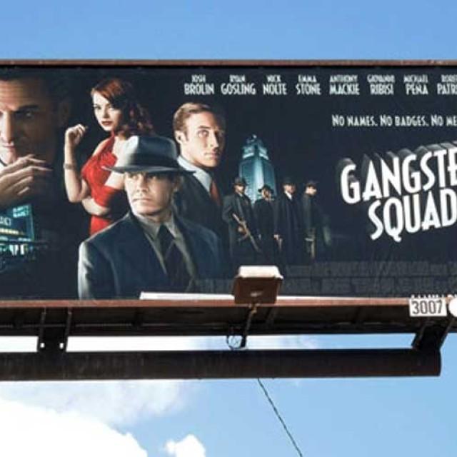 """""""Gangster Squad"""": Dancing, dining, drinking, comedy & bang! bang!"""