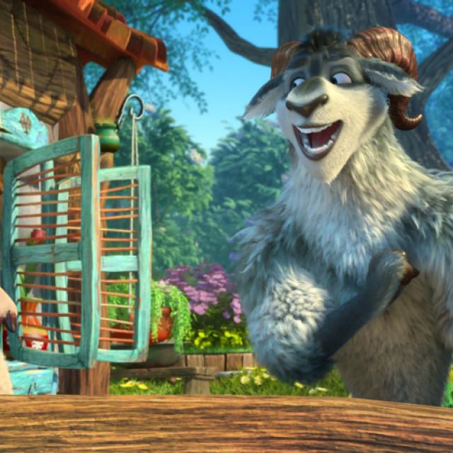 """Animaţia """"Un lup printre oi"""", la cinema, din 22 aprilie"""