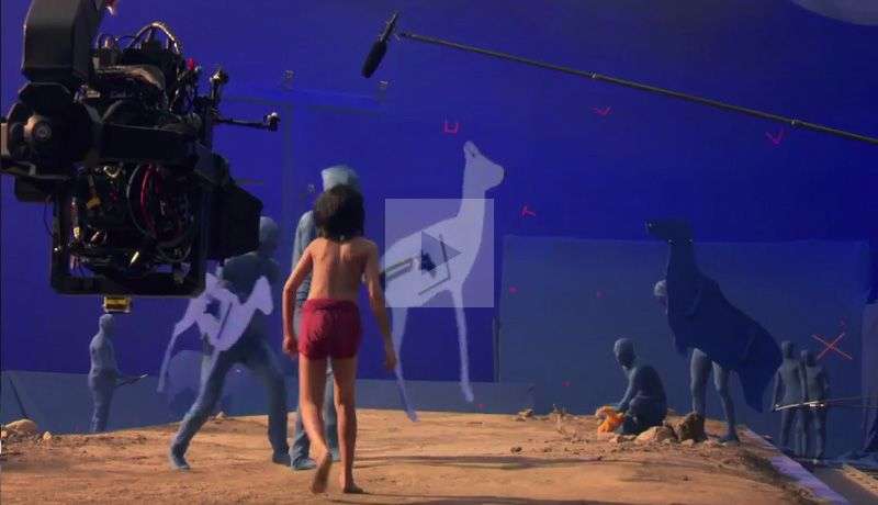 The Jungle Book: Creating the Virtual World & Creatures Featurette