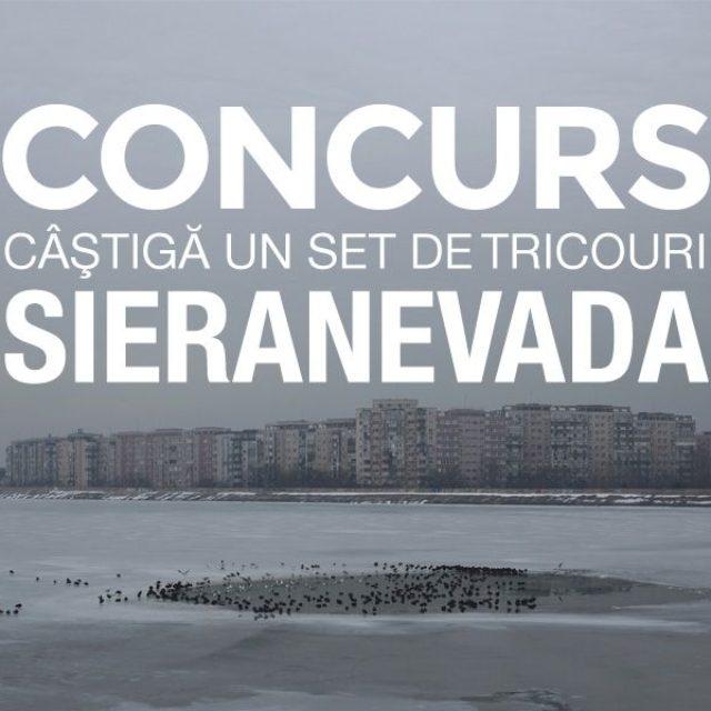 """Concurs: câştigă un set de tricouri """"Sieranevada""""!"""