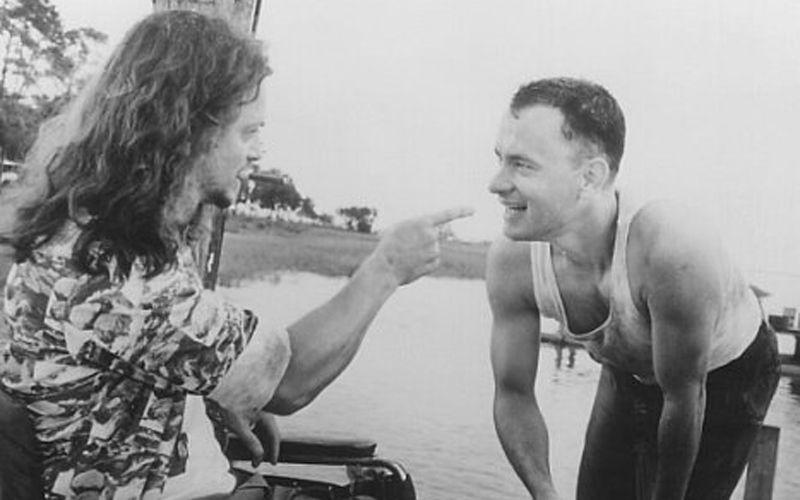 """Gary Sinise şi Tom Hanks în """"Forrest Gump"""", foto: imdb.com"""