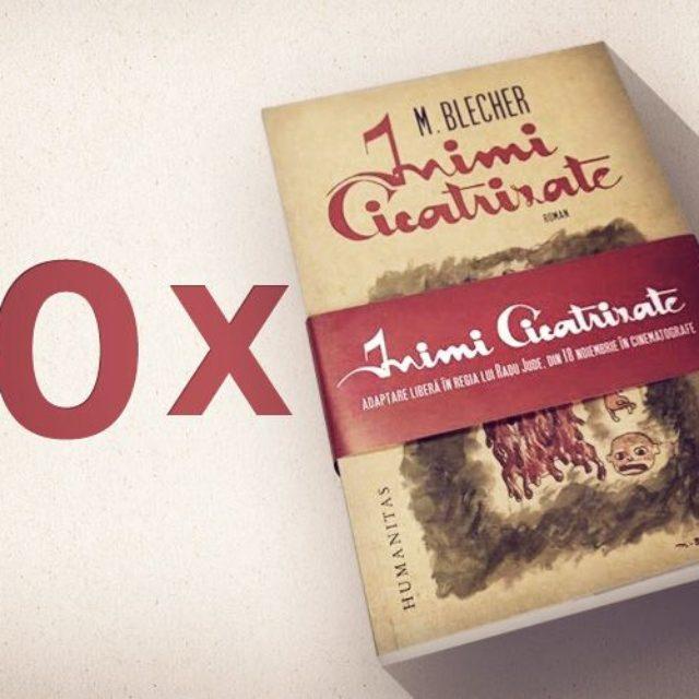 """Concurs: câştigă unul din cele 10 volume """"Inimi cicatrizate"""", de M. Blecher!"""