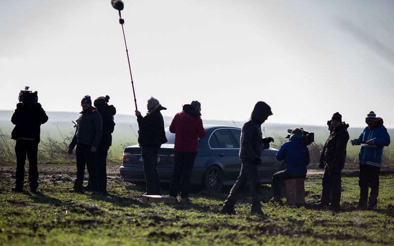 """""""Umbre"""", sezonul doi: în culisele filmărilor; foto: Adi Marineci pentru HBO"""