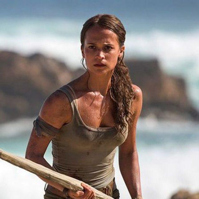 Imagini noi cu Alicia Vikander, în rolul Larei Croft