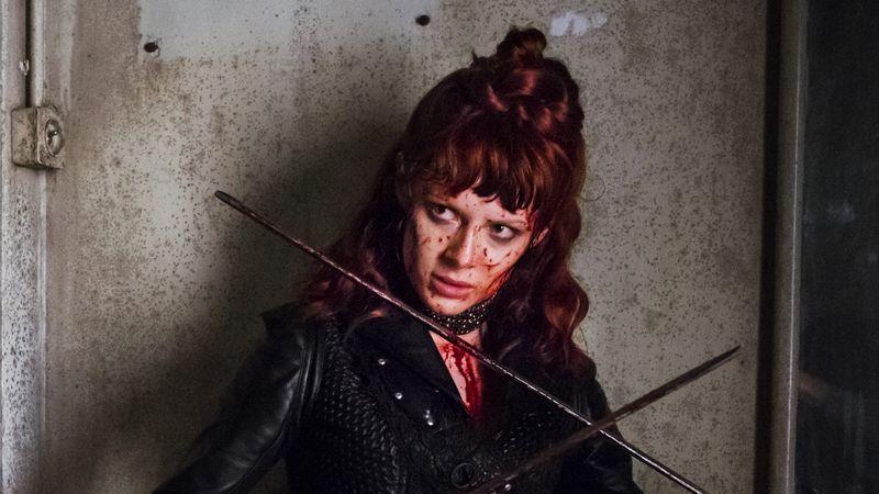 "Emily Beecham este the Widow în ""Into the Badlands"""