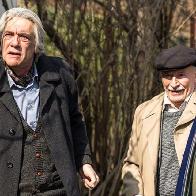 """Marcel Iureş şi Victor Rebengiuc, protagoniştii filmului """"Octav"""""""