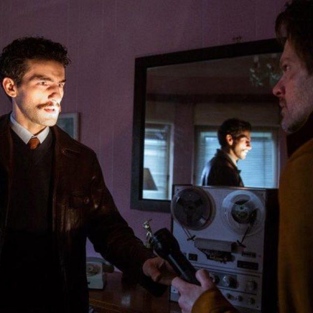 """Corneliu Ulici şi Florin Piersic Jr în serialul de televiziune """"Comrade Detective"""""""