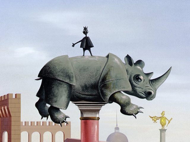 """""""Le roi et l'oiseau"""", animaţia care precede universul lui Miyazaki"""