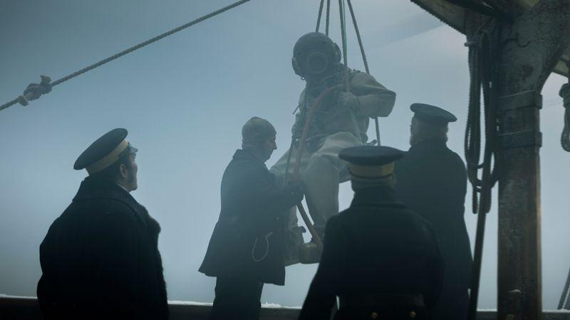 Scenă din serialul Teroarea