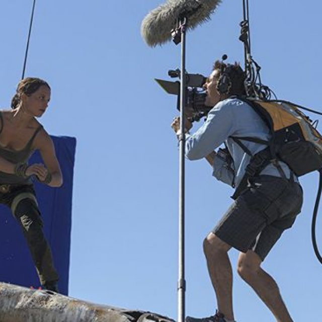 """Din culisele filmului """"Tomb Raider: Începutul"""":"""