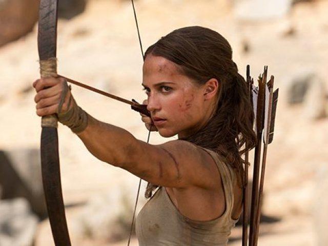 Lara Croft (Alicia Vikander)