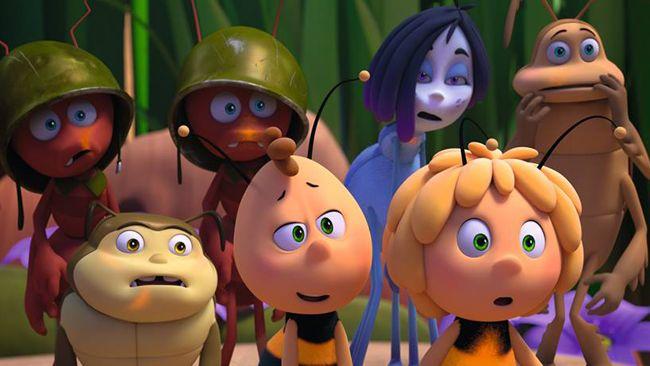 """În """"Albinuţa Maya 2"""", copiii vor avea parte de noi aventuri"""